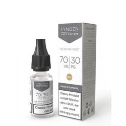 LYNDEN Nikotin Shot 70/30 10ml mit 20mg/ml Nikotin