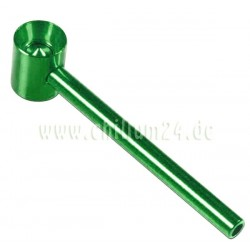 Sieblose Schraubpfeife grün