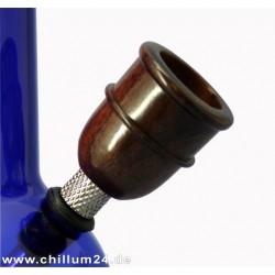 Holz- Siebkopf Zylinder Höhe ca. 38mm