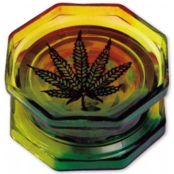 Leaf Acryl Grinder 2-teilig 55mm rasta