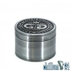 GG Metallgrinder Amsterdam 4-teilig 62mm Silber
