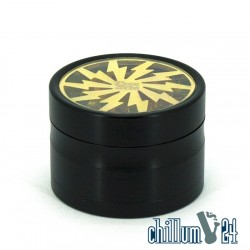 Dope Bros Lightning Metallgrinder 4-tlg Ø62mm Gold