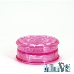 Amsterdam Kunststoff-Grinder mit Vorratsfach 6cm Pink