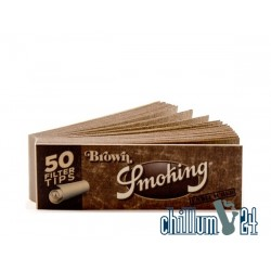 Smoking Brown Medium Size Filtertips perforiert