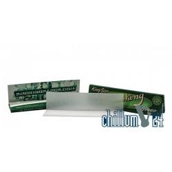 Smoking Green Hemp King Size 33 Blatt