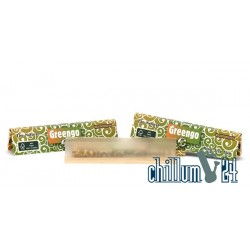 Greengo King Size Slim Unbleached 33 Blatt