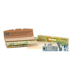 Greengo King Size Slim Paper mit Tips Unbleached