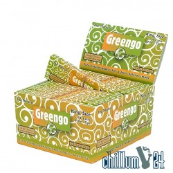 24er Box Greengo King Size Paper mit Tips