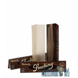 Smoking Brown unbleached King Size Slim Paper