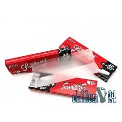 Smoking Red King Size Paper inkl. Tips