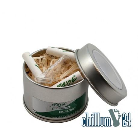 RooR® x PURIZE® Glas-Tip inkl. 3 PURIZE® XTRA Slim Filter