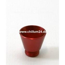 Aluflutsch-Schraubkopf Medium Rot
