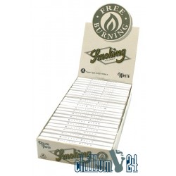 Box 25x Smoking White Free Burning