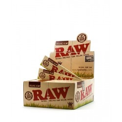 Box 50x RAW Organic King Size Slim Papier