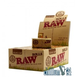 Box mit 24 Raw Organic King Size Rolls