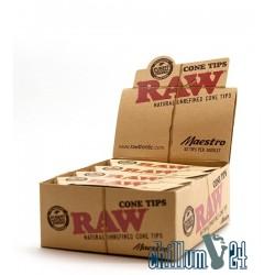 Box Raw Maestro 32 Filtertips konisch
