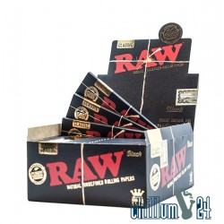 Box Raw Black King Size Slim Papers