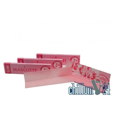 Mascotte Pink Edition King Size Slim Hemp