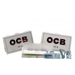 OCB Double No. 4 Weiß 100 Blatt