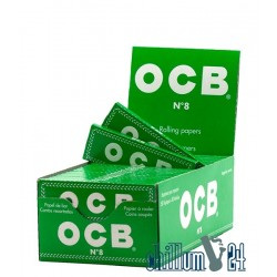OCB kurz green 50 Blättchen Box