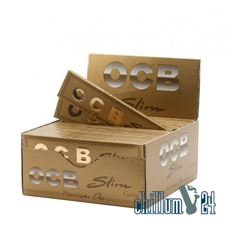 OCB Gold Slim Oro