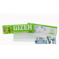 Gizeh King Size Slim Super Fine 34 Blatt inkl. Tips