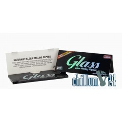 Glass Clear Rolling Papers 40 Blatt