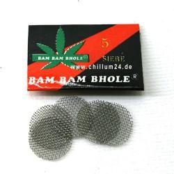 Stahl Einlegesiebe ca. 15 mm, grob