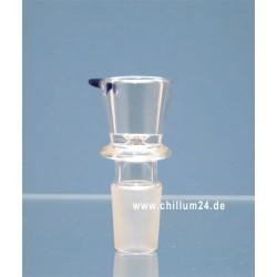 Glassteckkopf Zylinder 14,5er