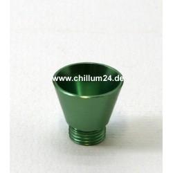 Aluflutsch-Schraubkopf Medium Grün