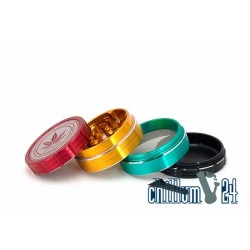 Grace Glass Amsterdam Grinder 4-part 50mm Rasta