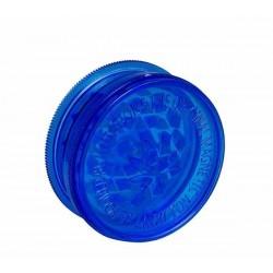 Acryl-Grinder mit Vorratsfach 59mm Blau