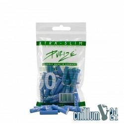 PURIZE XTRA Slim Blue Aktivkohlefilter 50er