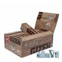 Box 26x Gizeh Brown King Size Slim 34 Blatt inkl. Tips