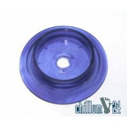 Standfuß mittel Acryl blue