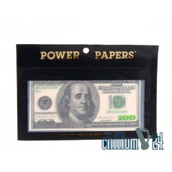 Power Papers 100 Dollar 12Stk + Tips