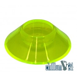 Krass Design Acryl Standfuß XXL fluor fresh green