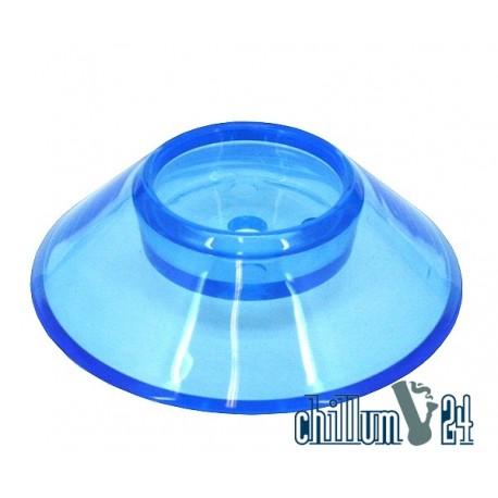 Krass Design Acryl Standfuß XXL fluor blue