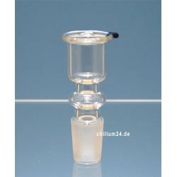 BBB Glassteckkopf Sieb Zylinder