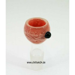 Glassteckkopf Sieb Heavy Pink
