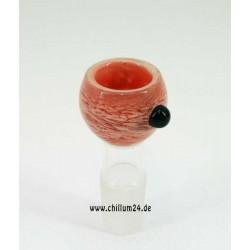 Glassteckkopf Heavy Pink