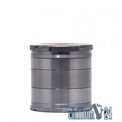 BL Aluminium Grinder New Edge 50mm 5-tlg Grau