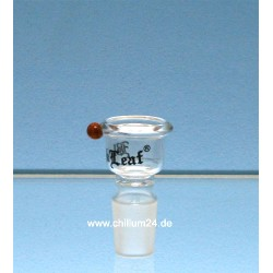 Black Leaf Glassteckkopf Sieb
