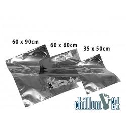 Bügelbeutel Aluminium silber verschiedene Größen