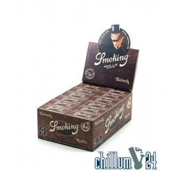 Box 24x4m Smoking Medium Brown Rolls