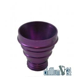 Aluflutschkopf Purple