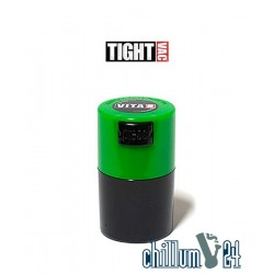 Tightvac VITA VAC 0,06L Vakuumdose blickdicht Black-Green