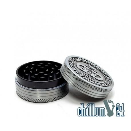 Grace Glass Amsterdam Metallgrinder 2-teilig 50mm Antik Silver