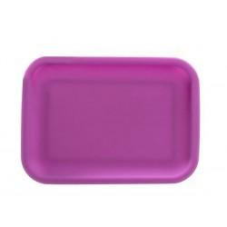 Silikon Tray 20,5x15,5x2cm Purple