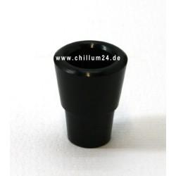 COSMIC Modul 4 Flutsch Steckkopf 2,5cm Schwarz